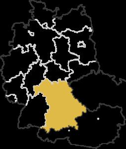 Bayern (Nord) 9er PLZ